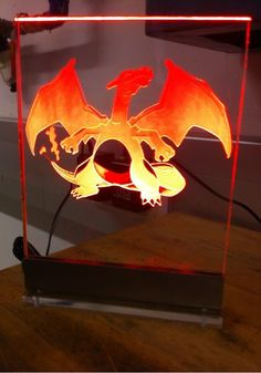 #Charizard Light Fixture via Reddit user BigBawwss #Pokemon