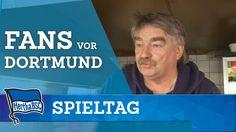 Fan-Stimmen vor Dortmund - Hertha BSC - Berlin - Pokal 2016 #hahohe
