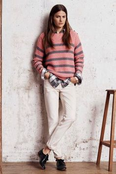 Buy Stripe Textured Sweater online today at Next: Israel