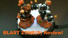 Blast Zone / Dark Blast Zone (Swap Force Character Reviews) - Visit us at SkylanderNutts.com for a written review and a score as well as other reviews, videos, and information for all of the Skylanders. Skylanders Swap Force Characters, Dark, Videos