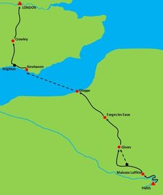 Greenway: cycle tour from Paris to London- 2014!!