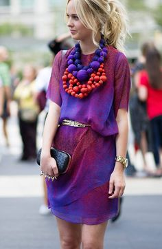 Add a statement necklace