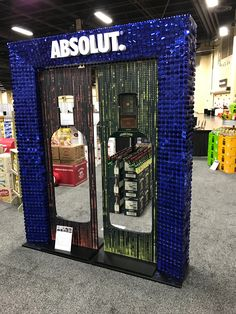 Absolut Vodka 'Party' Free Standing Unit - Looking to get noticed with your point of sale display in a busy, fast-paced retail environment? Increase confidence in your sales with www.popthis.com.au