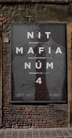 Mafia Poster by Quim Marin, via Behance