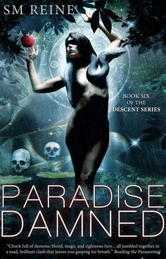 Cover Reveal: Paradise Damned (The Descendant #6) by SM Reine