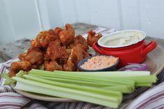 žít vege: květáková křidélka s mandlovo-česnekovým dipem Tandoori Chicken, Dip, Healthy Recipes, Meals, Meal Ideas, Cooking, Ethnic Recipes, Plant, Food