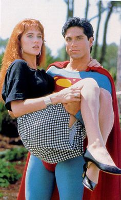 Superboy TV Series - Gerard Christopher and Stacy Haiduk