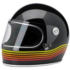 Bitwell Gringo S Full Face Vintage Motorcycle Helmet