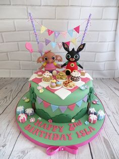 21st Birthday Cakes, Picnic Birthday, Baby Birthday, Cake Cookies, Cupcake Cakes, Cupcakes, Bing Cake, Bing Bunny, Cake Images