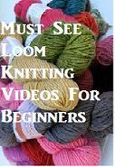 Must See Loom Knitting Videos For Beginning Loom Knitters and Those Needing a Refresher. Must See Loom Knitting Videos For Beginning Loom Knitters and Those Needing a Refresher. Loom Knitting For Beginners, Round Loom Knitting, Loom Knitting Stitches, Knifty Knitter, Loom Knitting Projects, Finger Knitting, Knitting Videos, Free Knitting, Knitting Loom Instructions