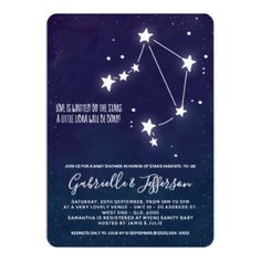 Libra - Zodiac Horoscope Baby Shower Invitation by MyInsanity | Libra - Zodiac Horoscope Baby Shower Invitation $2.20 by MyInsanity ad #Invitations #Events #DIY #EventPlanning #Parties #PartyThemes