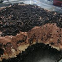Dirt Dessert...can't forget to add the worms (gummy that is!) I LOVED this as a kid!!!