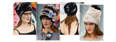 Veiled beanies and bobble hats blended influences at Chanel couture Spring/Summer 2015, to add a cozy touch to next Spring.