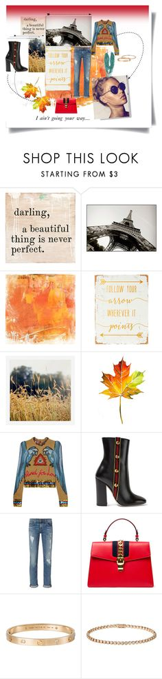 """""""SEASONS CHANGE"""" by you-dontsay ❤ liked on Polyvore featuring Home Decorators Collection, WALL, Pottery Barn, Gucci, rag & bone and Cartier"""