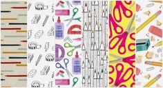 stationery pattern scissors, pencils, rubber fondos de pantalla papelería lápices tijeras gomas sacapuntas colores gratis whatsapp iphone android