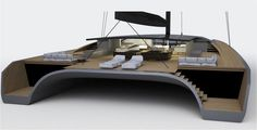 The BlackCat Super Yacht