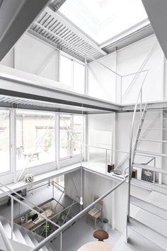 Tsuchihashi house / Kazuyo Sejima #casasminimalistasjaponesas