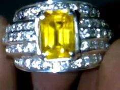 Yellow SAPPHIRE - Indah Mulia Gemstone