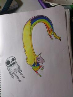Dibujado por Paula Torres (14 años)