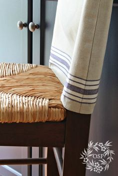 Vintage Mangle Cloth Slipcover