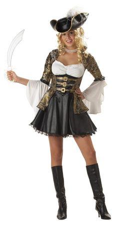new teen deluxe pirate princess girls halloween costume