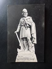 Postcard: Statue of King Alfred the Great, Wantage Oxfordshire