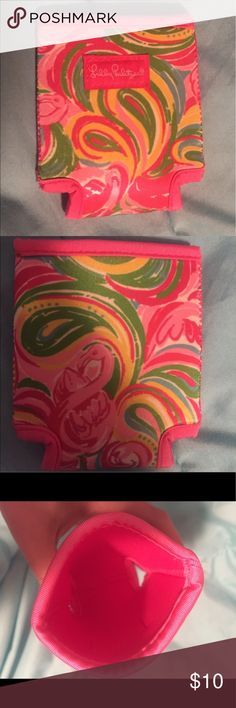 Lilly Pulitzer Koozie NWOT! 💕 Lilly Pulitzer koozie NWOT! Never used, in mint condition. Lilly Pulitzer Accessories