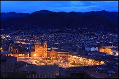 Cathedral and Cusco downtown