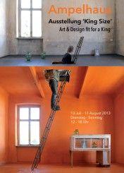 Foto's van de Koninklijke Wegen worden geëxposeerd in Oranienbaum!  King Size: art & design, 'fit for a king'  (13 juli t/m 17 augustus 2013)