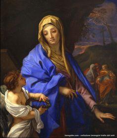 Carlo Maratta – Visita al sepolcro con la Vergine e le tre Marie, collezione privata