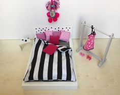 Puppenbett IKEA Hack ribba-bilderrahmen-2 www.limmaland.com