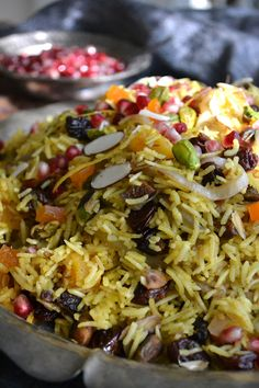 The View from Great Island | Persian Jeweled Rice