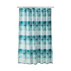 Room Essentials® Scallop Shower Curtain - Blue