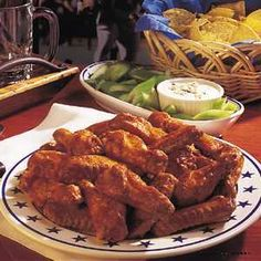Check out this great recipe from Franks RedHot: Cajun Buffalo Chicken Wings