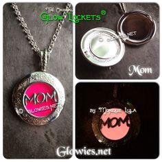 Glowing Mom Mothers Day Glow Locket