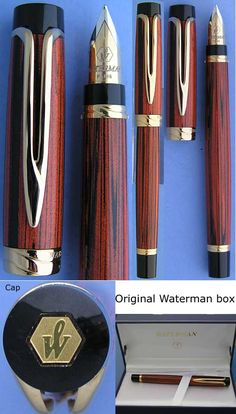 Waterman Ebonite Fountain pen