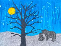 Family Time - My Painted Path Animal Totems, Paths, Bears, Fall, Artwork, Artist, Prints, Animals, Painting
