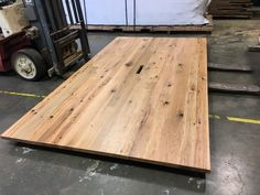 Reclaimed Oak Conference Table Smooth Finish
