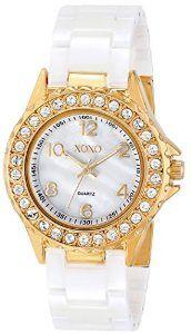 XOXO Women's XO2010 Swarovski Crysta- Accented Watch | watches.reviewatoz.com
