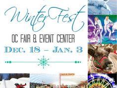 Winter Fest 2015 at OC Fair // LatinaMomsOC.com