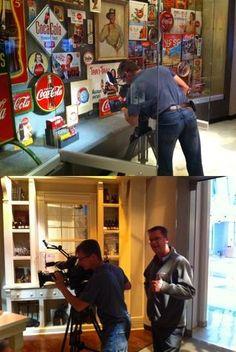(Coke code 113) Discovery 채널의 아틀란타 코카-콜라 박물관 촬영현장! 박물관이 문을 열기 전 아침시간에만 촬영이 가능했다고 하네요