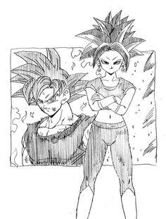 A New Fusion is Born: Son Goku vs Kefla
