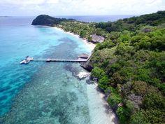 An aerial shot of Kokomo Island in Fiji Kokomo Island, Fiji Culture, Fly To Fiji, Visit Fiji, Fiji Beach, Beautiful Sunrise, Island Resort, Snorkeling, Where To Go