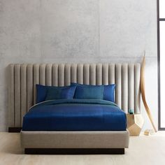 Damian Bed - Extended Headboard   west elm