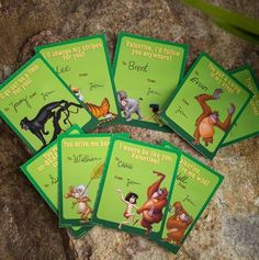 Jungle Book Valentine's Day Cards!