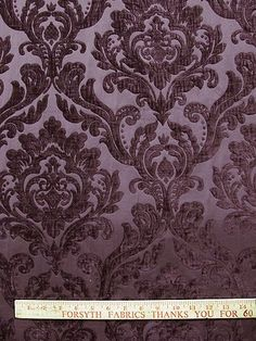 "NEIMAN PLUM  $29/yard Repeat: V=19""  x H=14.5"" http://forsythfabrics.com/collections/color-search/products/neiman-plum"