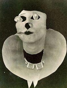 'Leinie Spoor' (1932) by German fashion photographer & Dada artist Erwin Blumenfeld (1897-1969). collection: Stedelijk Museum, Amsterdam. via NYT