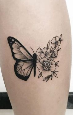 – – … – foot tattoos for women Hand Tattoos, Finger Tattoos, Cute Tattoos, Beautiful Tattoos, Body Art Tattoos, Small Tattoos, Butterfly With Flowers Tattoo, Butterfly Tattoos For Women, Foot Tattoos For Women