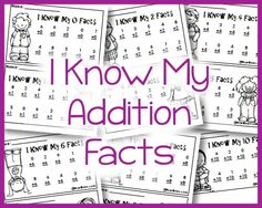 A blog post on ways to build math facts fluency with subtraction and ...