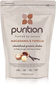 The Product Wholefood Macadamia & Vanilla Protein Shake (500g) Ideal for weight loss & post exercise recovery – 100% natural meal replacement – Breakfast smoothie for men & women – Drink or mix in yogurt/porridge  Can Be Found At - http://vitamins-minerals-supplements.co.uk/product/wholefood-macadamia-vanilla-protein-shake-500g-ideal-for-weight-loss-post-exercise-recovery-100-natural-meal-replacement-breakfast-smoothie-for-men-women-drink-or-m